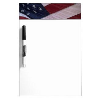 USA flag, North Carolina, USA Dry Erase Board