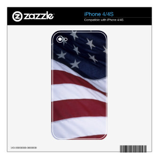 USA flag, North Carolina, USA Decal For The iPhone 4