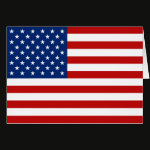 USA Flag Note Card