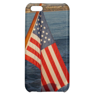 USA Flag on a Boat - iphone5 Case iPhone 5C Cases