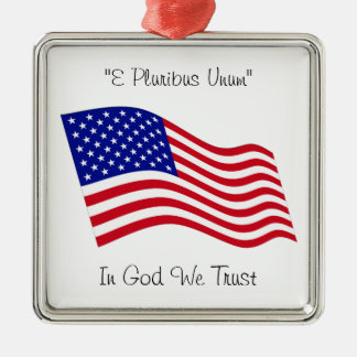 USA Flag Ornaments
