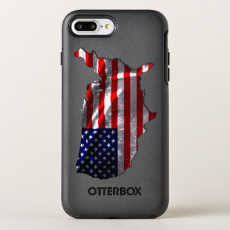 USA Flag OtterBox Symmetry iPhone 8 Plus/7 Plus Case