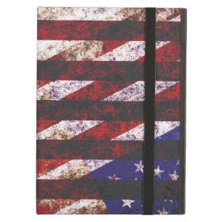 USA flag patriotic collage iPad Air Case