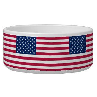 USA Flag Pet Bowl