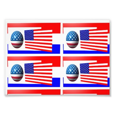 USA Themed usa flag photo paper