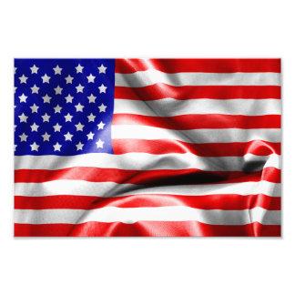 USA Flag Photo Print