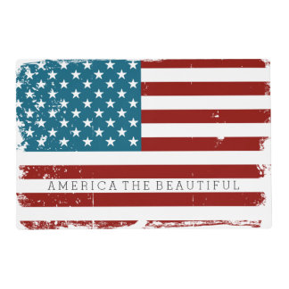 USA Flag Placemat