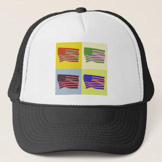USA Flag - Pop Trucker Hat