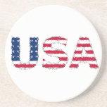 USA flag Posavaso Para Bebida