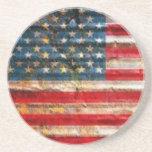 USA FLAG POSAVASOS PARA BEBIDAS