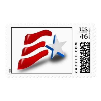 USA Flag Postage