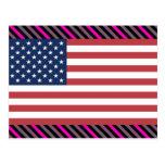 Usa Flag Postcards