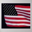 USA Flag print print