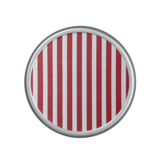 USA Flag Red and White Stripes Bluetooth Speaker