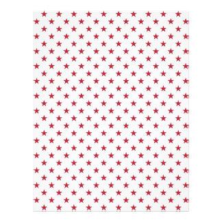 USA Flag Red Stars on White Throw Pillows Flyer