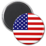 USA flag Refrigerator Magnet