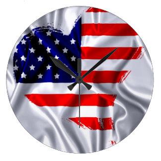 Usa flag. relojes