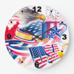 USA Flag Relojes