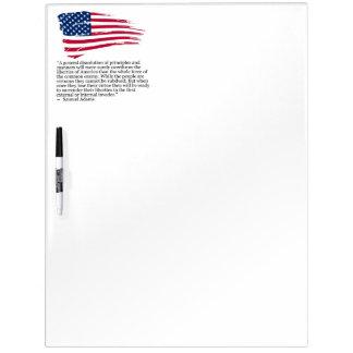 USA FLAG SAMUEL ADAMS DRY BOARD