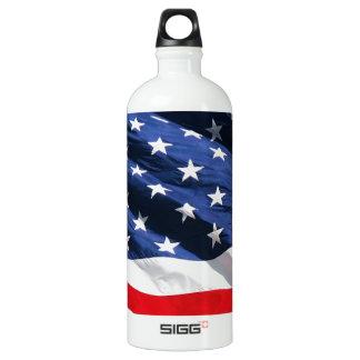 USA Flag SIGG Traveler 1.0L Water Bottle