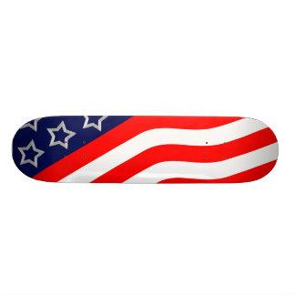 USA Flag Skateboard