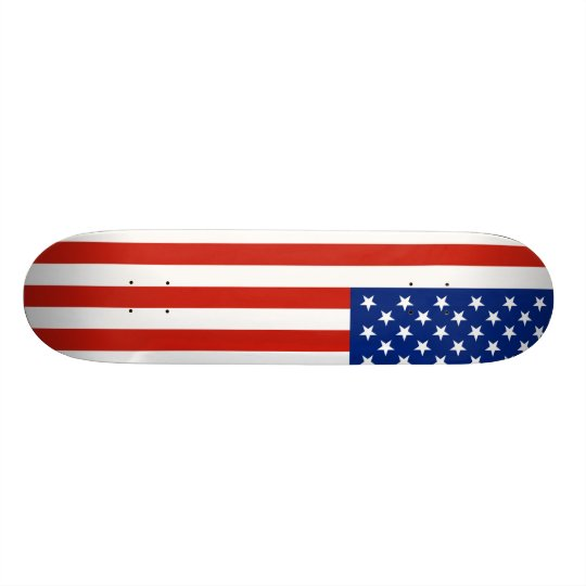 USA flag Skateboard Deck