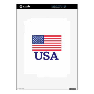 USA Flag Skin For iPad 2