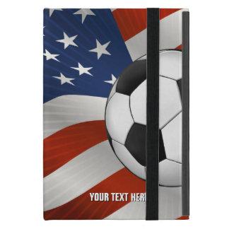 USA Flag & Soccer Ball Covers For iPad Mini