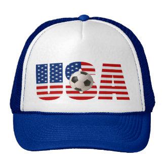 USA FLAG Soccer Hat