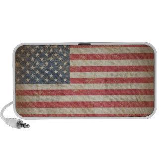 USA Flag Notebook Speaker