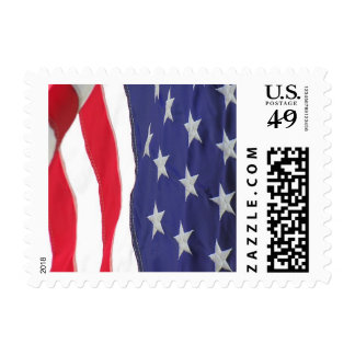 USA Flag stamp