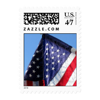 USA Flag stamp #2