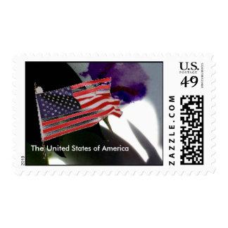 USA Flag . Stamps