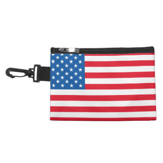 USA Flag stars and stripes Accessory Bag