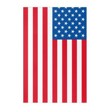 USA Themed USA Flag stars and stripes Acrylic Print