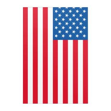 USA Themed USA Flag stars and stripes Acrylic Wall Art