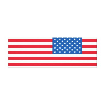 USA Themed USA Flag stars and stripes Canvas Print