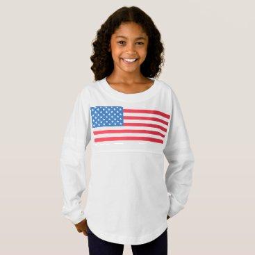 USA Flag stars and stripes Jersey Shirt