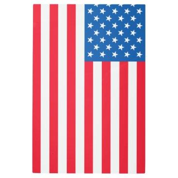 USA Themed USA Flag stars and stripes Metal Print