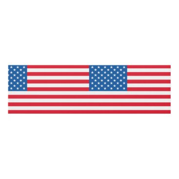 USA Themed USA Flag stars and stripes Panel Wall Art