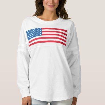 USA Flag stars and stripes Spirit Jersey