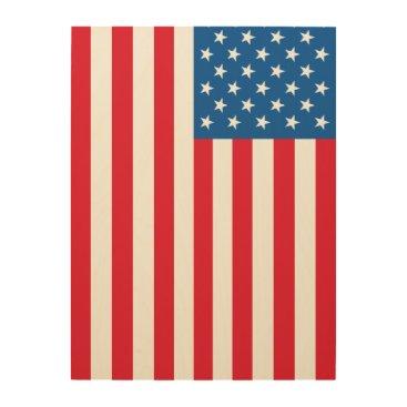 USA Themed USA Flag stars and stripes Wood Wall Decor