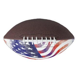 USA Flag Stars Stripes Patriotic Pattern Coach Football