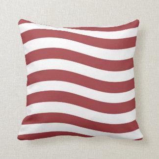 USA FLAG STRIPES PILLOW