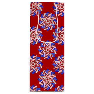 USA Flag-Teabag Folding S11r-WINE GIFT BAG