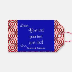 folded gift tags gift enclosures zazzle