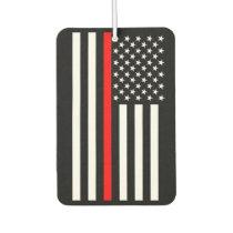 USA Flag The Thin Red Line Theme Air Freshener