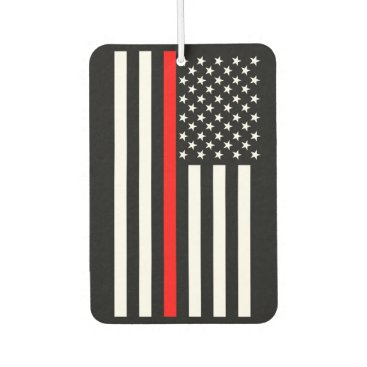 USA Flag The Thin Red Line Theme Air Freshener