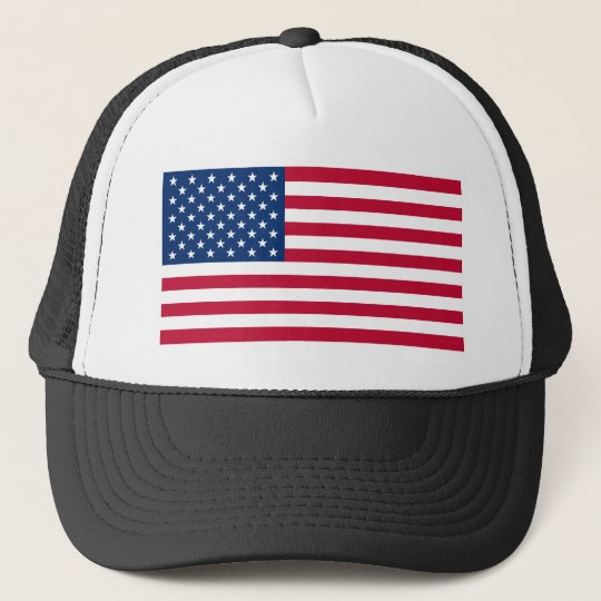USA Flag Trucker Hat