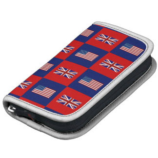 USA Flag & UK Flag Pattern Organizer